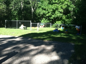 Existing Play area